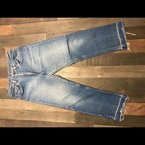 Levi's Jeans - Men's Blue Levi's with distress 32 width